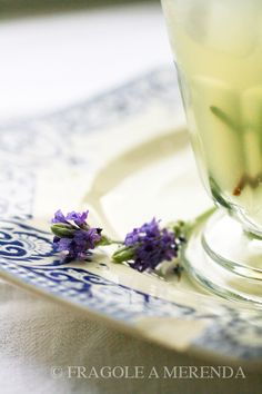 Limonata al miele, lavanda e rosmarino (una ricetta da FRAGOLE A MERENDA)