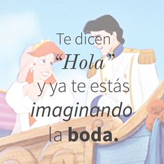 ¿Te ha pasado? <3 #hola #hello #love #amor #wedding #boda #bride #novia #groom #littlemermaid #sirenita