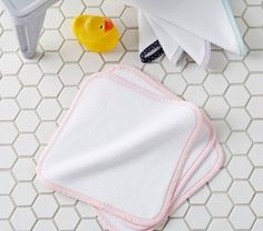 Bath time gifts for little ones - Confetti Dot washcloths