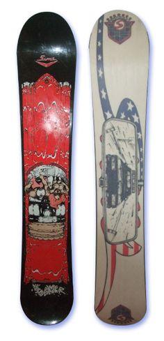 Shaun Palmer Cadillac Snowboard