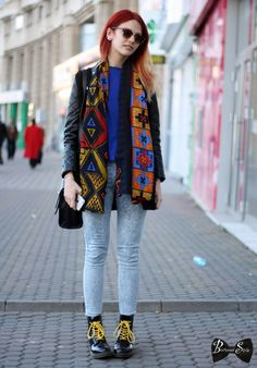 bucharest style, street style, colors, print, romania street style, romania street fashion