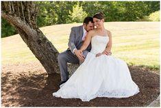 bride and groom. cinderella wedding dress. Lucerne Inn Wedding Photos by Linda Barry Photography