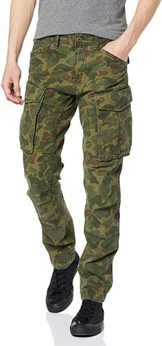 Bekleidung, Herren, Hosen Mens Leather Pants, Real Leather, G Star Raw, Slim Pants, Trouser Pants, Tactical Uniforms, Star Wars, Tapered Trousers, Camo Fashion