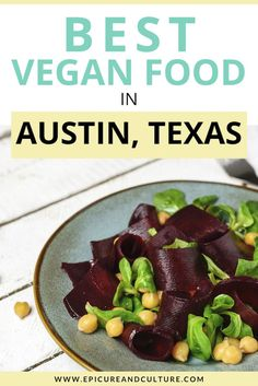 This culinary guide shares the best food in Austin, Texas. Enjoy vegan tacos, bbq, breakfast, and more! // #Vegan #Vegetarian #Austin #Texas Travel Guides, Travel Tips, Vegan Looks, Vegan Shakes, Vegan Tacos, Delicious Restaurant, Restaurant Guide, Responsible Travel, Austin Texas