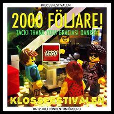 Titta på Lekstuga Holly och Emily på Klossfestivalen - Sveriges största LEGO® event! 10-12 juli 2015 på Conventum Arena i Örebro www.facebook.com/... www.lekfab.se/