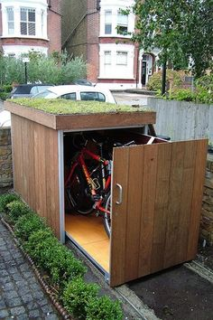 great concept: For storage under a raised garden bed, for a garden work area, or for garden furniture kept protected from the elements (moreo typical uses). Would it store the passenger seat from my van? Would it be protected enough for storage for extra/not-in-use medical equipment?