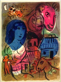The 'Antilopa' Passengers - Marc Chagall