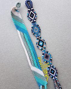 Fußkettchen Armband Tutorial - New Sites Thread Bracelets, Embroidery Bracelets, Macrame Bracelets, String Bracelets, Armband Tutorial, Bracelet Tutorial, Summer Bracelets, Cute Bracelets, Anklet Bracelet