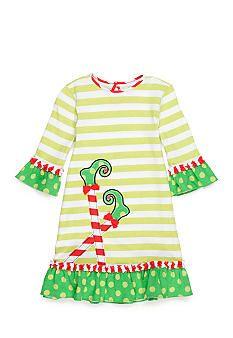 J. Khaki® Stripe Elf Feet Dress Toddler Girls | Belk