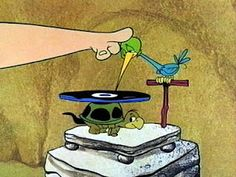 The Ultimate Flintstones Site - Animal Tools Bird Record Player Cartoon Tv, Vintage Cartoon, Cartoon Characters, Vintage Tv, Radios, Vinyl Collection, Fred Flintstone, Old School Cartoons, Yabba Dabba Doo