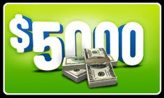 $5000 prize draw will you win?