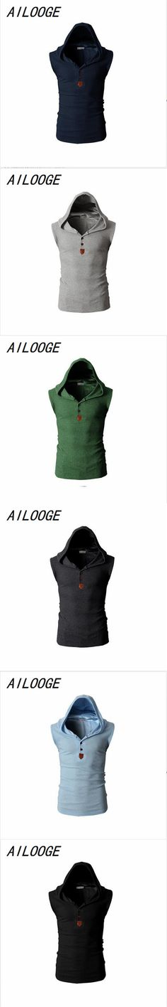 AILOOGE Mens Hooded Tactical Vest Sleeveless Jacket For 2017 Man Waistcoat Tactical Motorcycle Brand Vests Winter Male Coat
