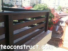 balustrade din lemn rustice pentru terasa 02 Balustrade Balcon, Balcony Railing Design, Backyard Ideas For Small Yards, Ceiling Design Living Room, Garden Architecture, Exterior Remodel, Backyard Landscaping, Decoration, Pergola