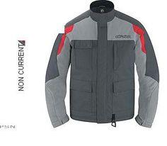 Ski Doo Mens Track Trail Jacket New Charcoal Gray 440497 Ecklund Motorsports $79.99!