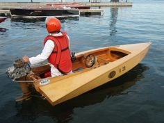 how to make your own small speed boat - Google Search