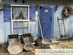 Fresh Eggs Daily®: Natural Chicken Coop Cleaning 1-2-3