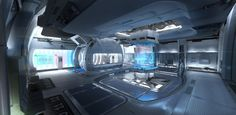ArtStation - Zero-G Locker room - Star Citizen, Viktor Jonsson