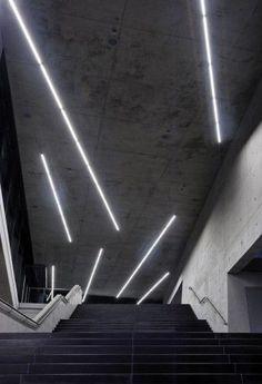 Illumination: Small Olympic Hall / pfarré lighting design #building #Architecture