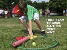 Need a great game to play with kids this summer? We've got one for you! In fact, this game will be played week after week on grassy fields all across the country at CentriKid Camps. I originally sh...