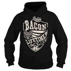Last Name, Surname Tshirts - Team BACON Lifetime Member Eagle