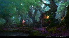 Xiaochen Fu, Hollow tree forest