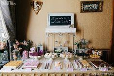 5. Lilac Wedding,Sweet Table decoration,Sweets / Wesele z bzem,Słodki bufet,Słodkości,Anioły Przyjęć Lilac Wedding, Table Settings, Park, Fotografia, Table Top Decorations, Parks, Place Settings, Dinner Table Settings, Setting Table