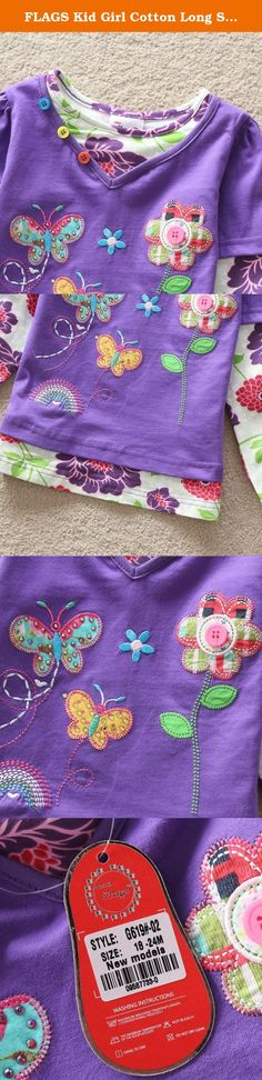 FLAGS Kid Girl Cotton Long Sleeve Bird Flower T Shirt Tee Top Purple 5-6 Years. NEAT kids clothing is dirctly sell from factory. We focus to children health, using natural fabrics, the perfect combination of fashion and comfortable. Brand Name: NEAT Style: Fashion Material: Cotton Notice: If you want kids wear longger time, you can order 1 size bigger Size: 18-24 months=86-92cm 2-3 years=92cm-98cm 3-4 years=98cm-104cm 4-5 years=104cm-110cm 5-6 years=110cm-116cm.
