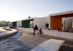 colorful nursery school; dos hermanas (carmen sanchez blanes).