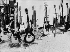Rolling Stones Guitar Arsenal 1970's