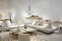 Prado by Christian Werner, ligne roset Living Room Inspiration, Interior Design Inspiration, Sofa Design, My Living Room, Home And Living, Sofa Furniture, Furniture Design, Prado, Ligne Roset Sofa