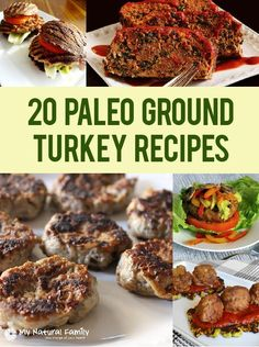 20 of the Best Paleo Ground Turkey Recipes
