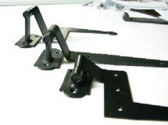 offsets for exterior shutter hinges