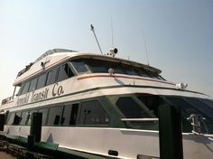 Arnold Transit Co. Ferry from Mackinaw City to Mackinac Island, Michigan