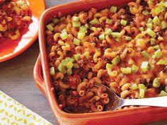 EASY CASSEROLE RECIPES: Sloppy Joe and Macaroni Casserole from CookingChannelTV.com
