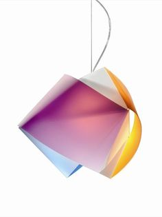 Opalflex® pendant #lamp GEMMY by @Slamp   The Leading Light   #design Tommaso Ragnisco, Cristina Croce, Alessandro Spalletta, Manuel Wijffels