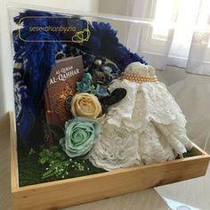 Image may contain: 1 person, indoor Wedding Keepsakes, Traditional Wedding, Diy And Crafts, Wedding Decorations, Indoor, Hampers, Instagram Posts, Gifts, Weddings