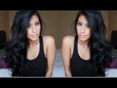 Big Sexy Curls in 15 mins [Mommy friendly]