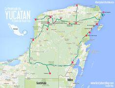 MEXIQUE | 15 JOURS DE ROADTRIP DANS LE YUCATÁN