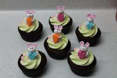 Mice cupcakes for SPCA cupcake day