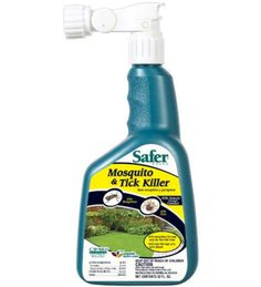 Safer mosquitoe and tick killer