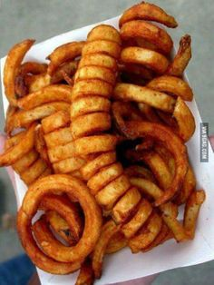 Curly Fries, Oh My!