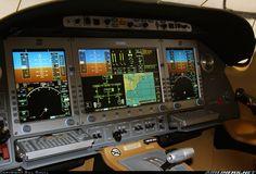 Eclipse 500 Glass cockpit.