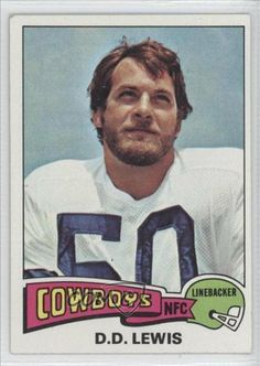 D.D.Lewis D.D. Lewis, Dallas Cowboys (Football Card) 1975 Topps #118 by Topps. $0.75. 1975 Topps #118 - D.D.Lewis
