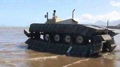 DARPA releases video of floating tank-like CAAT vehicle