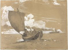 Fishing off Scarborough | The Art Institute of Chicago