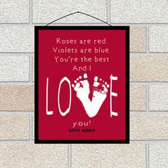Valentine's Day Gifts for Mom and Dad, from kids