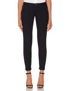 Soft, lightweight chino is a pleasure to wear! Sits low on the waist with a relaxed hip.