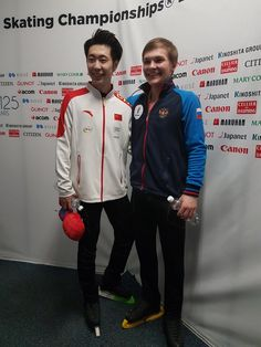 Boyang Jin(China) and Mikhail Kolyada(Russia) World Championship 2017