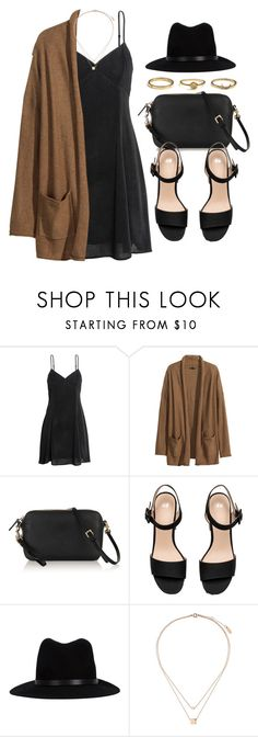 """#14638"" by vany-alvarado ❤ liked on Polyvore featuring H&M, Mulberry, rag & bone and Topshop"