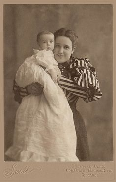 +~+~ Antique Photograph ~+~+  Mother's Pride